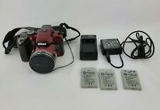 Nikon COOLPIX P510 16.0MP Digital Camera - Red READ DESCRIPTION