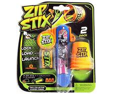 ZIP Stix Mega Pack compressione LOCK Lancio Carico Bambini Giocattolo Gioco Novelty dono regalo