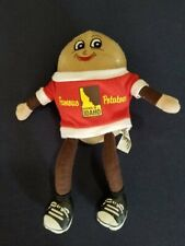 """2011 Edition SPUDDY BUDDY Famous Grown In Idaho Potatoes 9"""" Plush Doll"""
