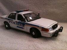 ORLANDO FLORIDA  POLICE UT 1/18 SCALE MOTORMAX DIECAST WITH WORKING LIGHTS/SIREN
