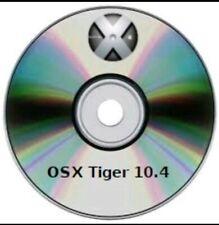 OS X  Tiger 10.4- avviabili DVD  (Recovery, upgrade, Fresh )