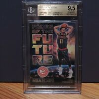 2018-19 Trae Young Rookie Card Panini NBA Hoops Future Beckett BGS 9.5 GEM Mint