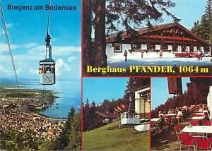 Postcard Bregenz am Bodensee several aspects Berghaus Pfander cottage chalet