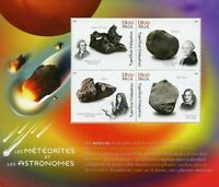 Madagascar 2018 MNH Meteorites Astronomers Herschel Cassini 4v M/S Space Stamps