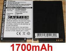 Batterie 1700mAh type 303ATL0000A L017YS0100732 Pour I-mate Ultimate 9502