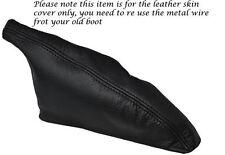 BLACK LEATHER E BRAKE BOOT COVER FITS TOYOTA CELICA TA22 TA23 RA28