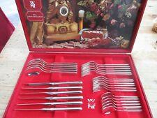 WMF Onda 90 Silber 6 Personen 30 Teile Messer Gabel Kaffeelöffel Gabel Note2 TOP