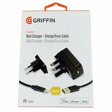 Griffin GA37439 PowerBlock 10w Wall Charger + Lightning Charge / Sync Cable