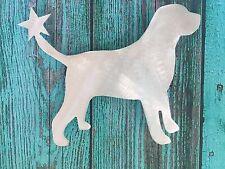 Labrador Retriever, Lab, Dog Christmas Tree Topper, Wreath Decor, Holiday, Metal