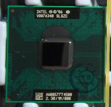Intel Dual Core T4500 2.3Ghz 1MB 800 SLGZC Socket P CPU AW80577GG0521MA
