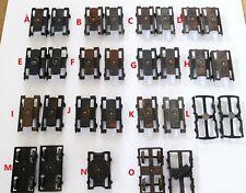 611H:Bing or Similar Gauge1 Coach Bogie Frames with/ Wthout Wheels MultiListing