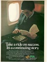 1979 Original Advertising' Advertising Pia Pakistan International Airlines
