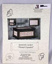 Cross Stitch Chart SPANISH CASKET ATAUD ESPANOL Wild Heart Designs Chart Only