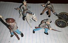 Civil War Confederate Soldiers Collection 2 Toob Mini Figures Safari Ltd