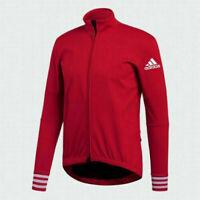 Adidas Men Adistar.oj.ls Red Switzerland Cycling Jersey CW7728 Size S MSRP $225