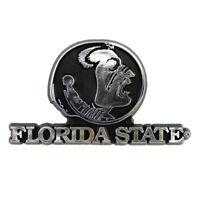 Florida State Seminoles Emblem Chrome Decal Sticker Emblem NCAA