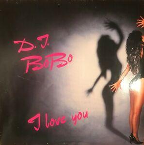 """DJ BOBO Schallplatte """"I Love You"""" Die erste Schallplatte von DJ BOBO, Rarität"""