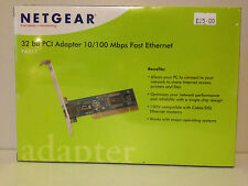 Netgear 32 bit PCI Adapter 10/100 Mbps Fast Ethernet FA311v2 BNIB