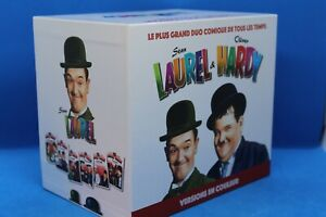 """coffret 11 DVD """" Laurel et Hardy """"  ( 10 dvd en couleur et 1 en Noir et Blanc )"""