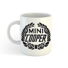 klassisch MINI COOPER LOGO 313ml (300ml) Bedruckt Teetasse Kaffee-Haferl