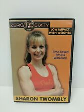 Zero To Sixty Fitness Low Impact With Weights Dvd Sharon Twombly Exercise