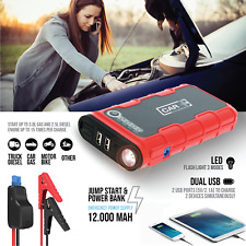 Car Jumper Starter Emergency Jump Engine Portable Battery Power Bank 12000 mah
