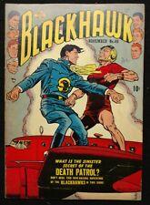 BLACKHAWK #46 1951 FN+ SHARP  APPEARANCE DEATH PATROL,SYNDICATE OF DEATH