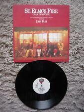 "John Parr St. Elmo's Fire Man In Motion UK 1985 12"" Vinyl Single UK London A1/B1"