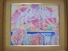 Jiro Igarashi    '' Mont Miyoko'' painting