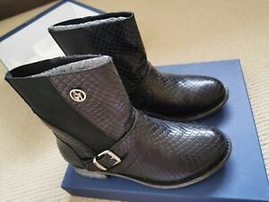 Brand New ARMANI Jeans Ankle Boots size  37