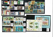 S87 Ghana UMM collection of 24 sets MNH on 6cards PTSA £40.80