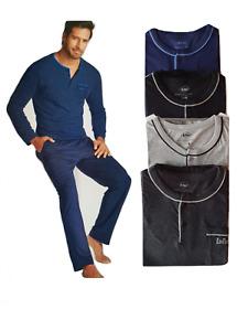 Lee Cooper Pyjama  long homme coton éxiste en  4 couleurs