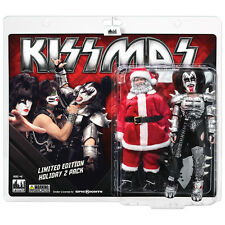 KISS 8 Inch Mego Style Action Figure Holiday Two-Packs: Santa & The Demon