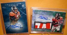 MONTEE BALL - 2013 Inception Elements RC Auto /25 & Name Plate Auto /75 Broncos