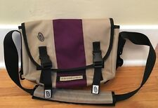 Timbuk2 Messenger Style Kakhi Purple Crossbody Laptop Bag