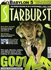 WoW! Starburst #240 Godzilla! Lost In Space! The X-Files! Star Trek Voyager!