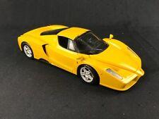 HOT WHEELS Yellow Edition ENZO FERRARI Open Doors 1:18 Scale