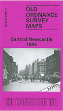 OLD ORDNANCE SURVEY MAP JARROW 1895 QUALITY ROW COMMERCIAL ROAD HEBBURN COLLIERY