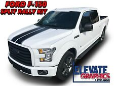 For Ford F-150 Rally Stripes Hood Tailgate Graphics Decals Vinyl Stickers 09-20