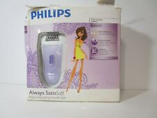 Philips Norelco Hp6520/70 Two Speed Setting Satin Soft Cordless Wet/Dry Epilator