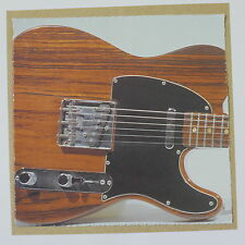 POP-CARD feat. ROSEWOOD TELECASTER DETAIL , 15x15cm greeting card aav