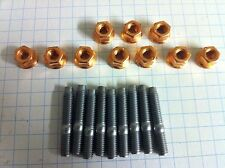 Peugeot 106 GTi 16v Exhaust Manifold stud and Nut Kit