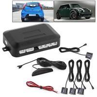 4 Parking Sensors LED Display Car Auto Backup Reverse Radar System Alarm Kit ZH