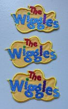 Embroidered WIGGLES LOGO MOTIF x 3