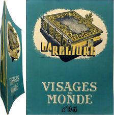 La Reliure 1950 Visages du Monde 95 bibliophilie Poirier Frank Boinet Doyon