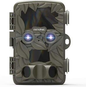 REXING Woodlens H6 - Dual Camera Trail Cam, 4K+FHD Ultra HD Video