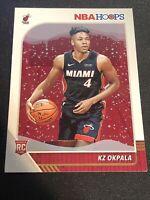 2019/20 Panini NBA Hoops KZ Okpala Rookie Rc Miami Heat Base #226 Stanford