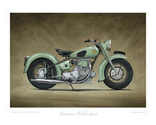 Sunbeam S7 De Luxe (1950) -  Limited Edition Collectors Print