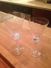 Mikasa South Hampton Gold Water and Wine Goblets