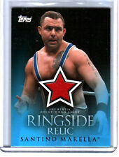 WWE Santino Marella 2009 Topps Ringside Relic Event Worn Shirt Card A